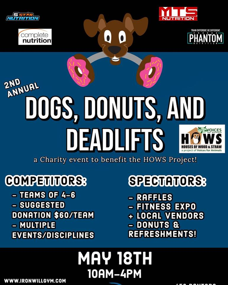 Dogs, Donuts, and Deadlifts