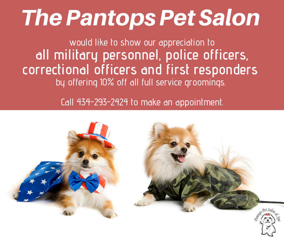Pantops Pet Salon 10% Off