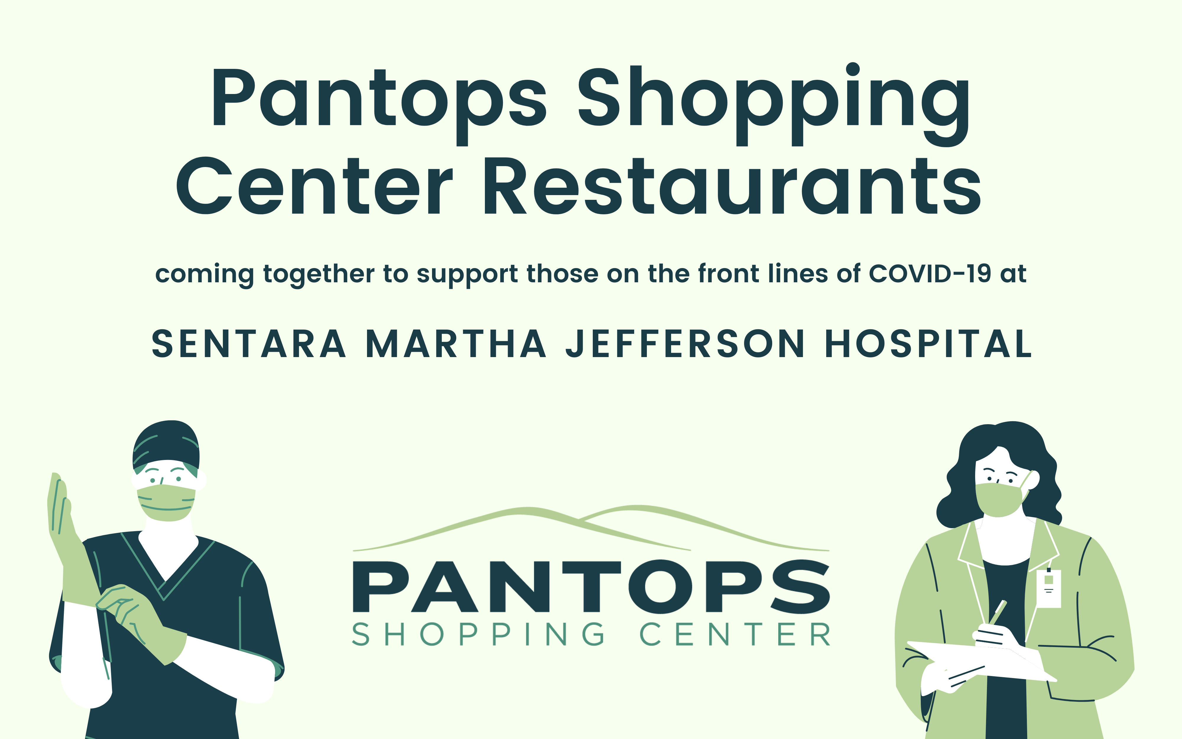 Pantops Restaurants Support Front Line Workers